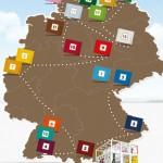 Zum Jubiläum - Ritter Sport Schokotour 2012 (Bild: ritter-sport.de)