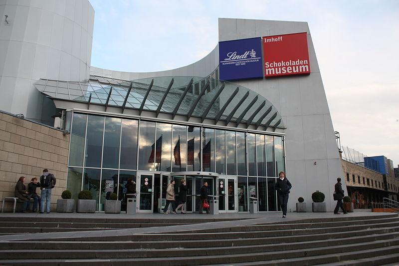 Der Eingang des Schokomuseums (Bild: Politikaner/wikimedia.org)