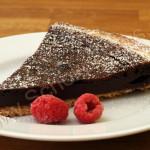 Schmackhaftes Testergebniss - unsere Chocolate Pie
