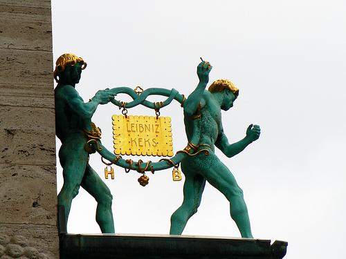 Er ist wieder da: der goldene Leibniz-Keks von Bahlsen (Bild: flickr.com)
