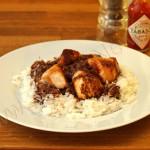 Hähnchen mit herzhafte Schokosauce: Mole Poblano