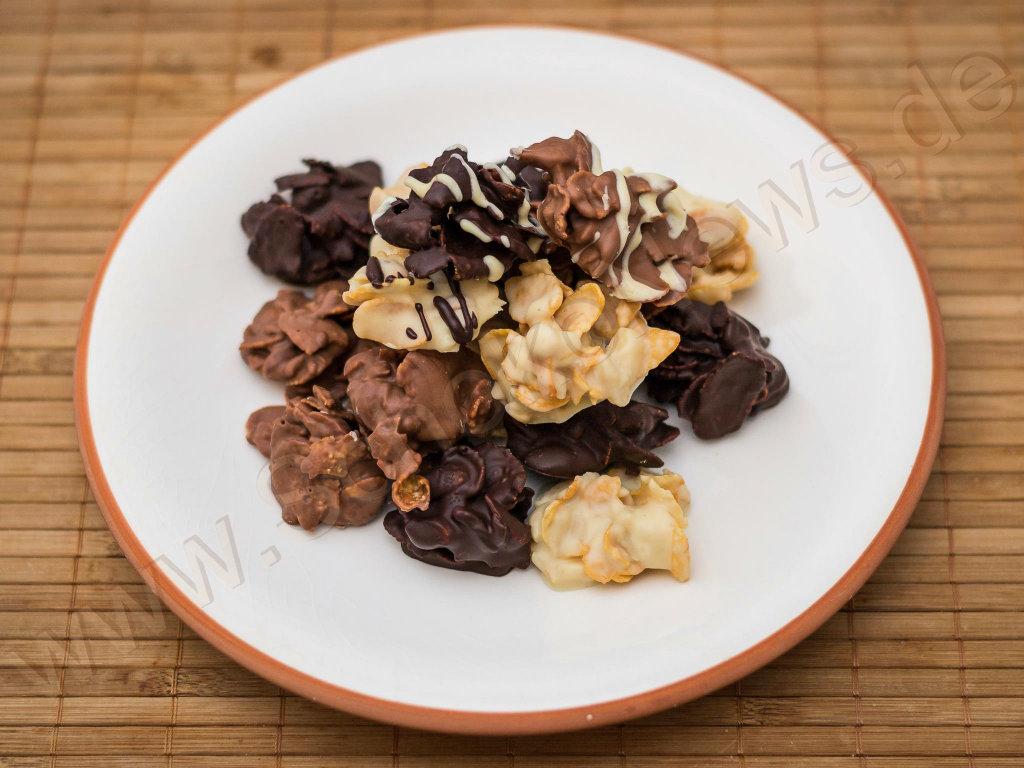 Choco Crossies werden auch mit Fairtrade-Produkten nicht teuer.
