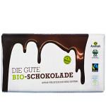 Die Gute Bio Schokolade - gleiches Design, neuer Inhalt! (Bild: AlnaturA)