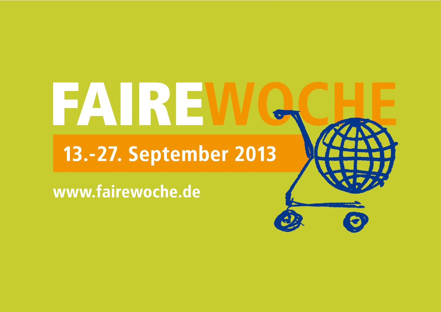 Heute startet die Faire Woche 2013!