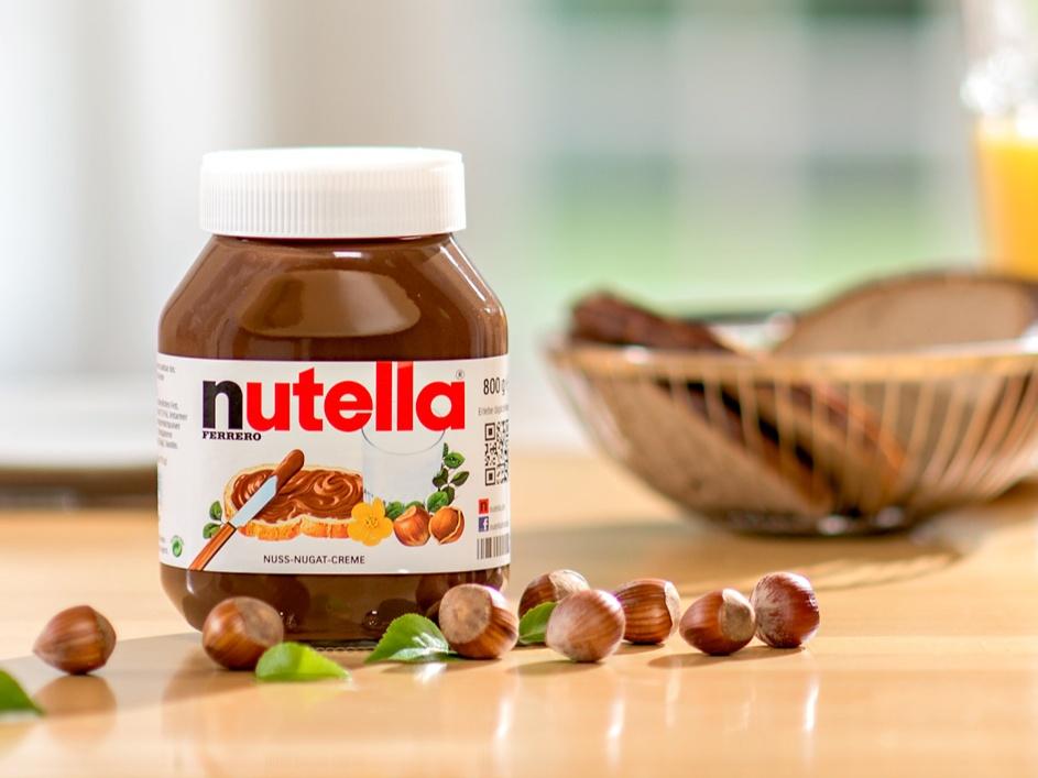 Nutella Wallpaper (Quelle: Ferrero)