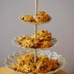 Kürbis macht auch süß eine gute Form: z.B. als Cookie mit Schokolade.