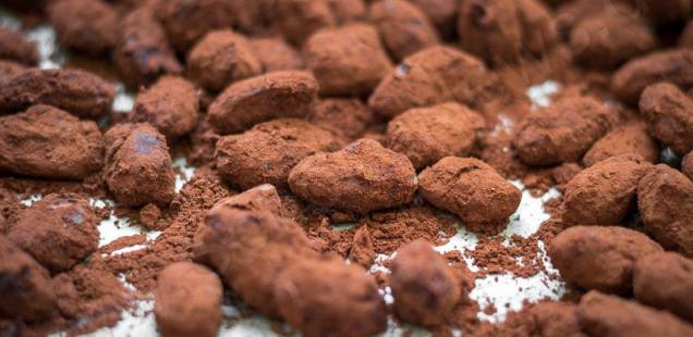Mandeln im Schokolademantel
