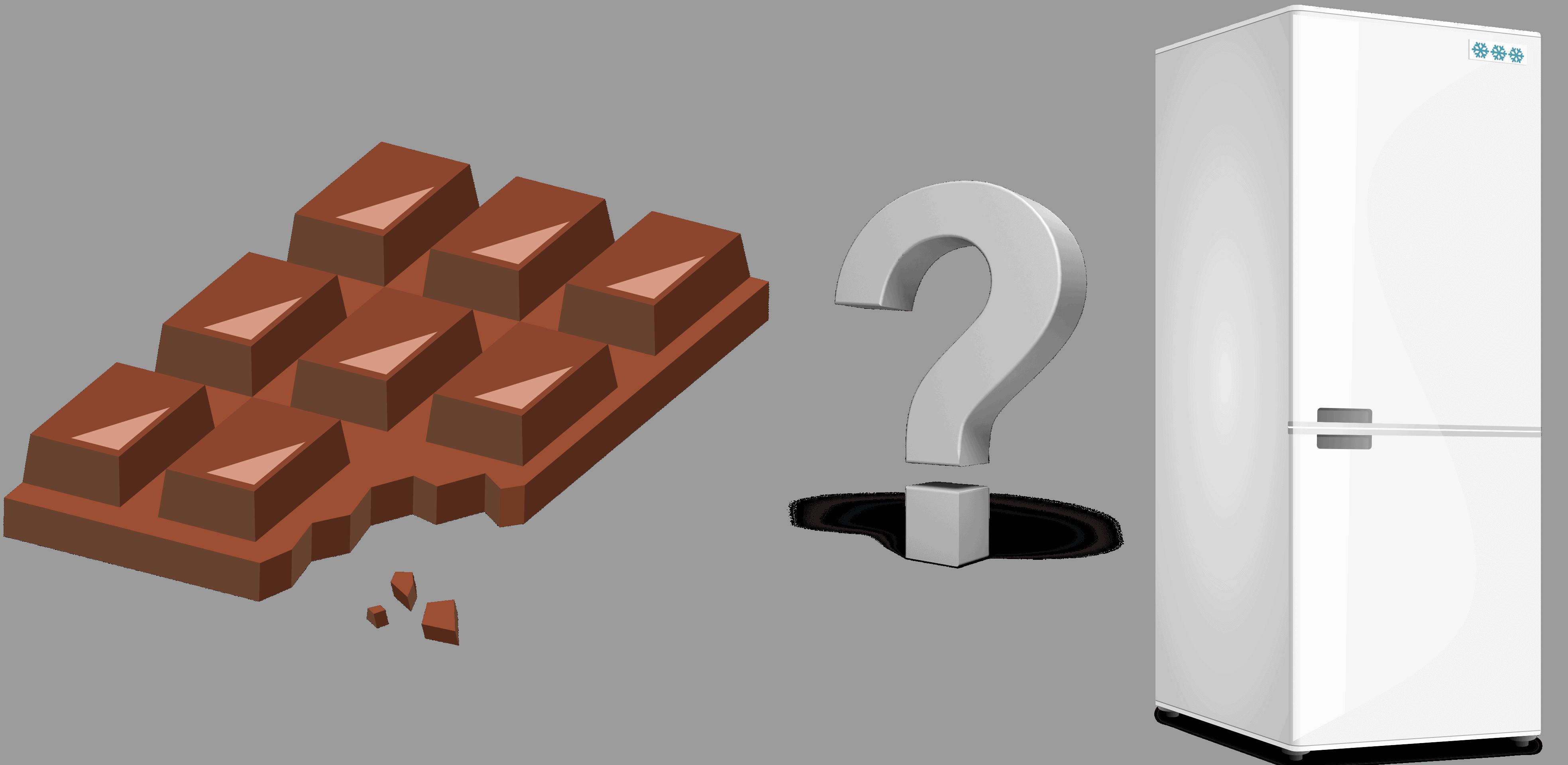 Kuehlschrank-Schokolade