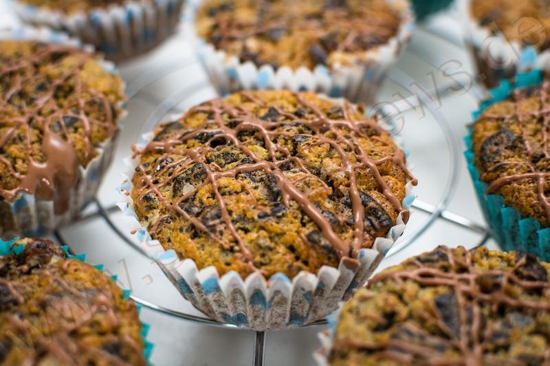 Oreo-Muffins schmecken am besten frisch aus dem Backofen!